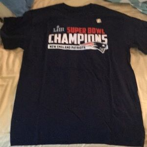 New England Payriots t shirt